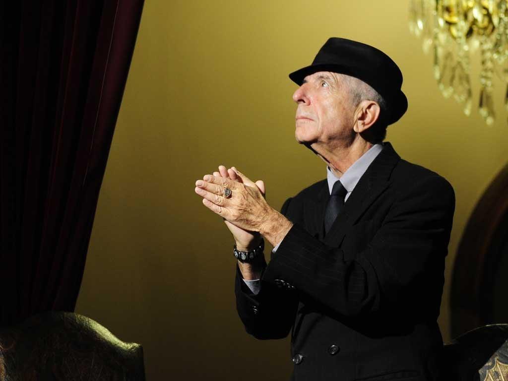 Legendary lyricist: Leonard Cohen