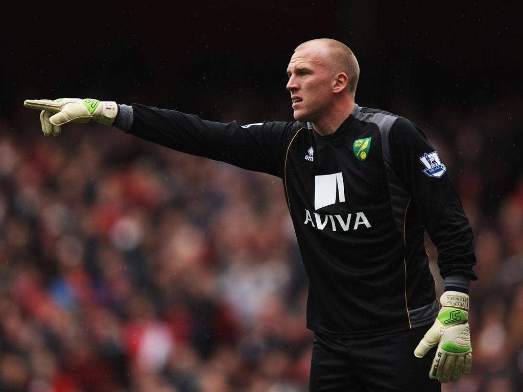 <b>John Ruddy (Norwich)</b><br/> <b>Age</b> 25<br/> <b>Caps</b> 0<br/> <b>England moment:</b> Uncapped at any level of English football.