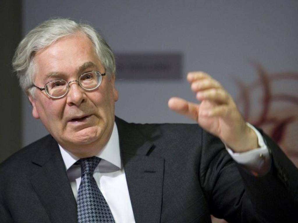 The Bank of England's Mervyn King warned yesterday that UK inflation would stay above target