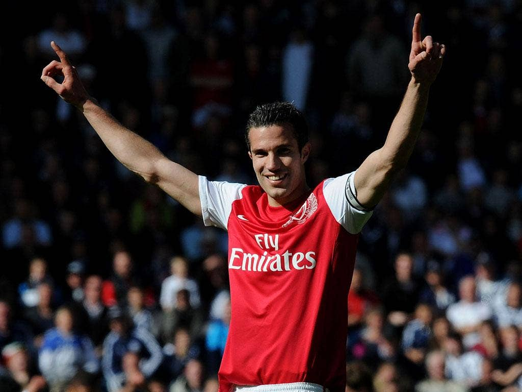 Robin van Persie has one-year remaining on his contract