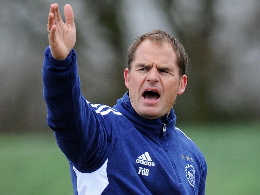 Frank de Boer had been linked with the vacancy