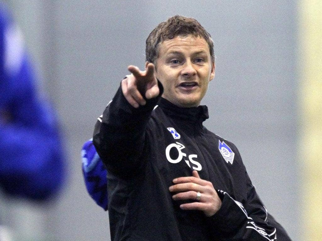 Ole Gunnar Solskjaer  is the favourite for the job