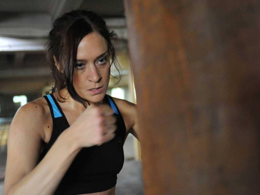 Packing a punch: Chloë Sevigny in 'Hit and Miss'