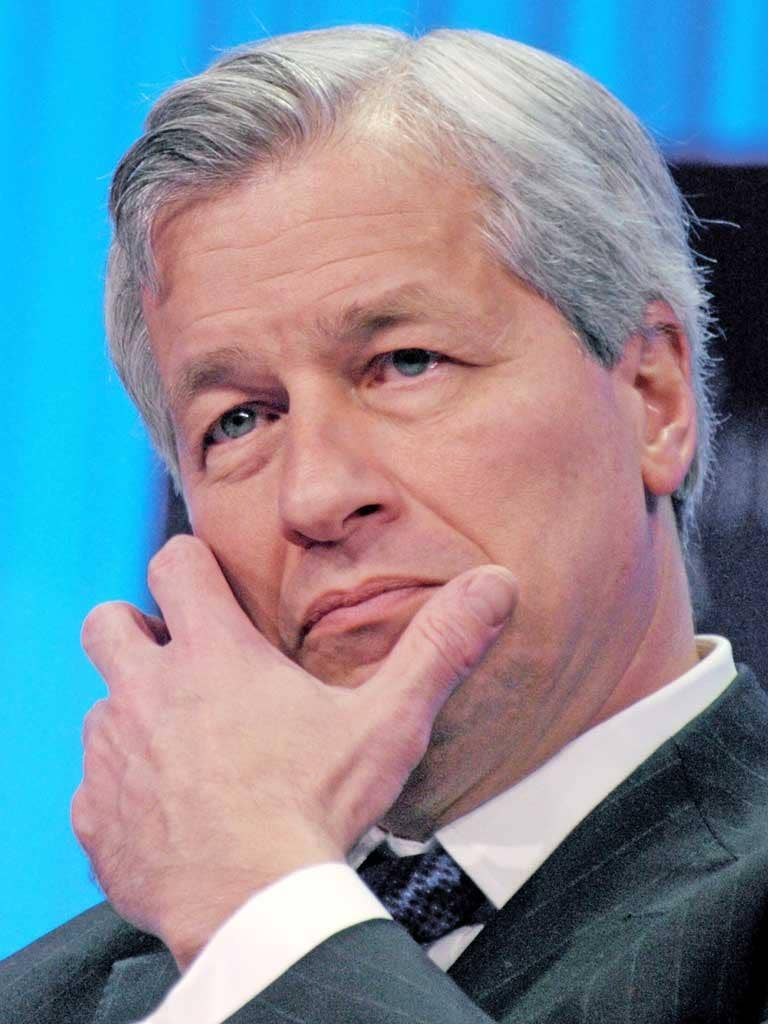 Jamie Dimon insisted that the cancelled buyback was not linked to fears of an increase in losses