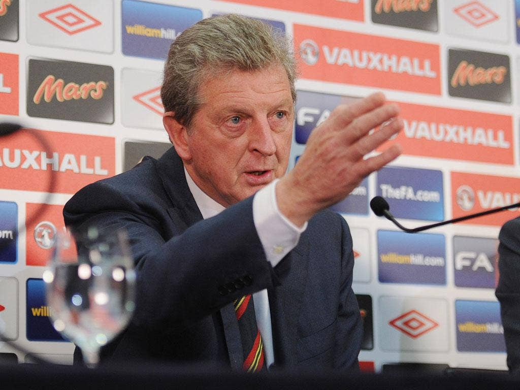 <b>16 May 2012</b><br/> England manager Roy Hodgson announces his squad for Euro 2012. The newly-appointed manager made some hotly debated decisions, such as the exclusion of former captain Rio Ferdinand and the inclusion of Liverpool's Stewart Downing.
