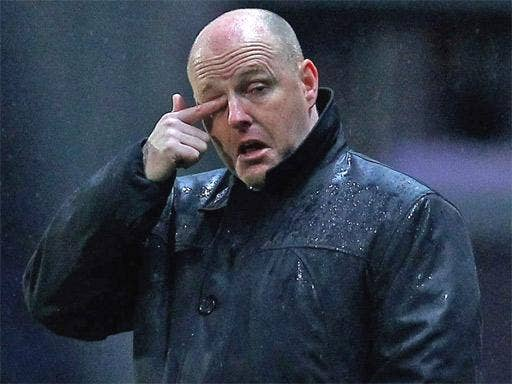 Steve Kean flew to India for talks last week but his future is still undecided