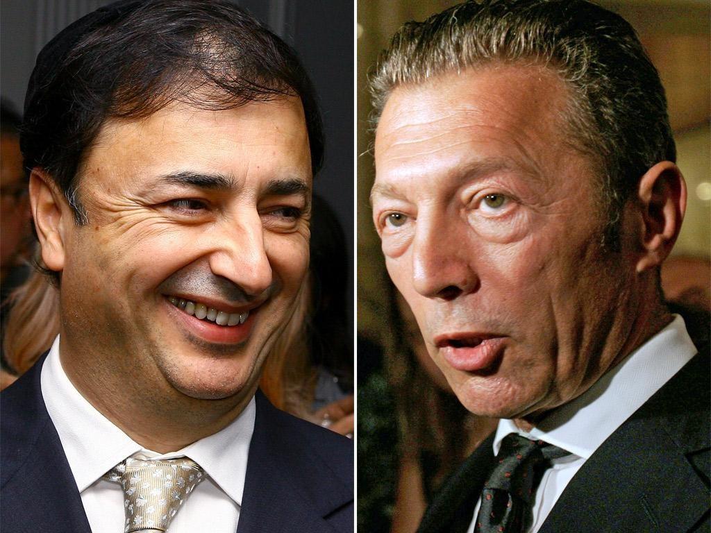 Lev Leviev and Arkady Gaydamak