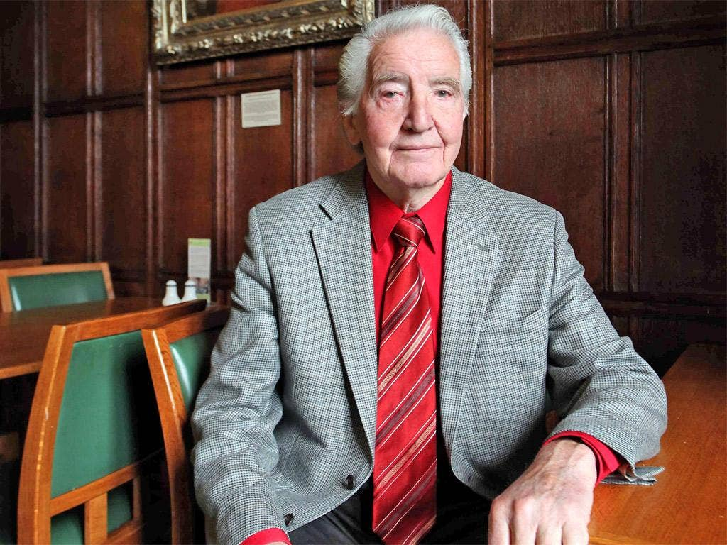 The Prime Minister apologised for remarking that it was time for Labour MP Dennis Skinner to collect his pension