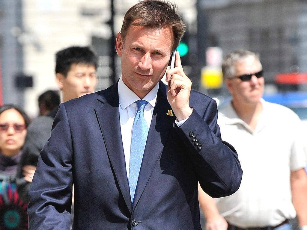 Jeremy Hunt's (pictured) former special adviser, Adam Smith, will be asked what he told News Corp about Mr Hunt's consideration of its planned £8bn takeover of BSkyB