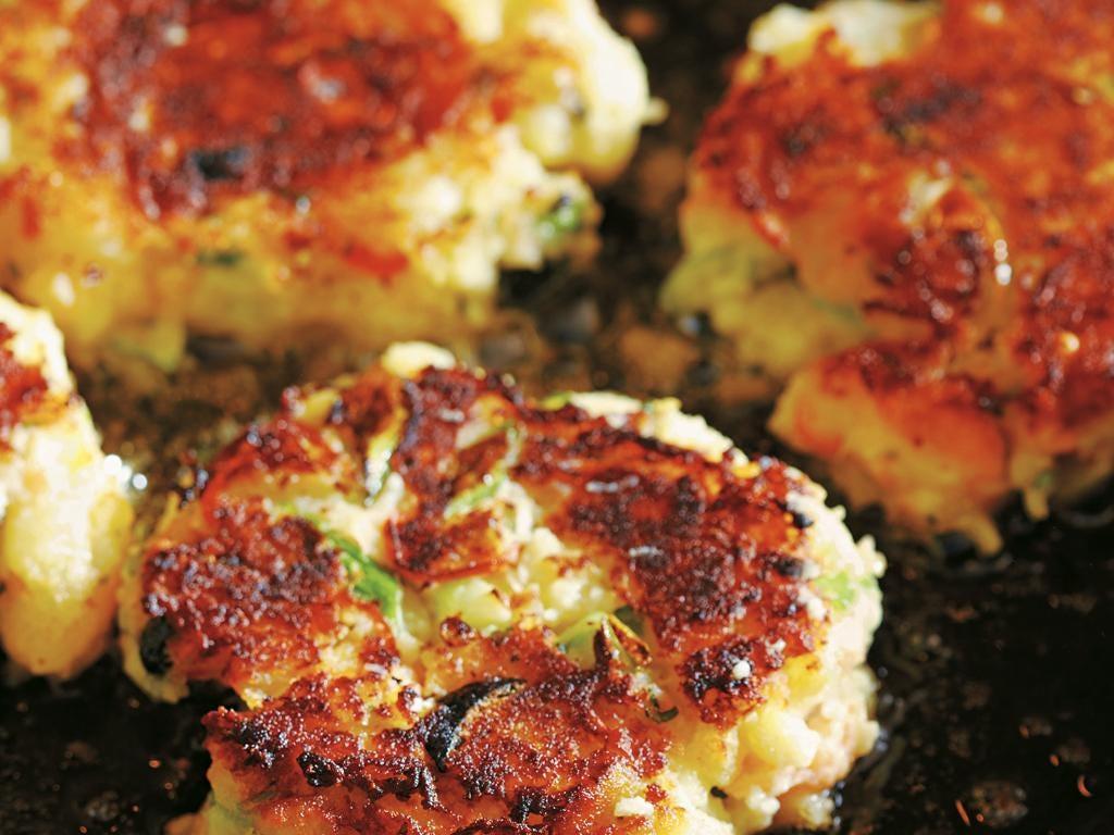 Smoked salmon fishcakes by Dick and James Strawbridge