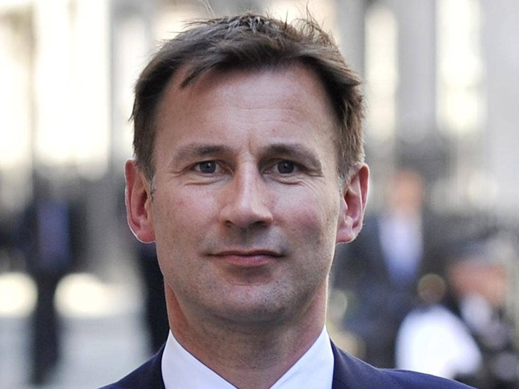 Jeremy Hunt was warned to 'do nothing' to influence Murdoch's bid for broadcaster
