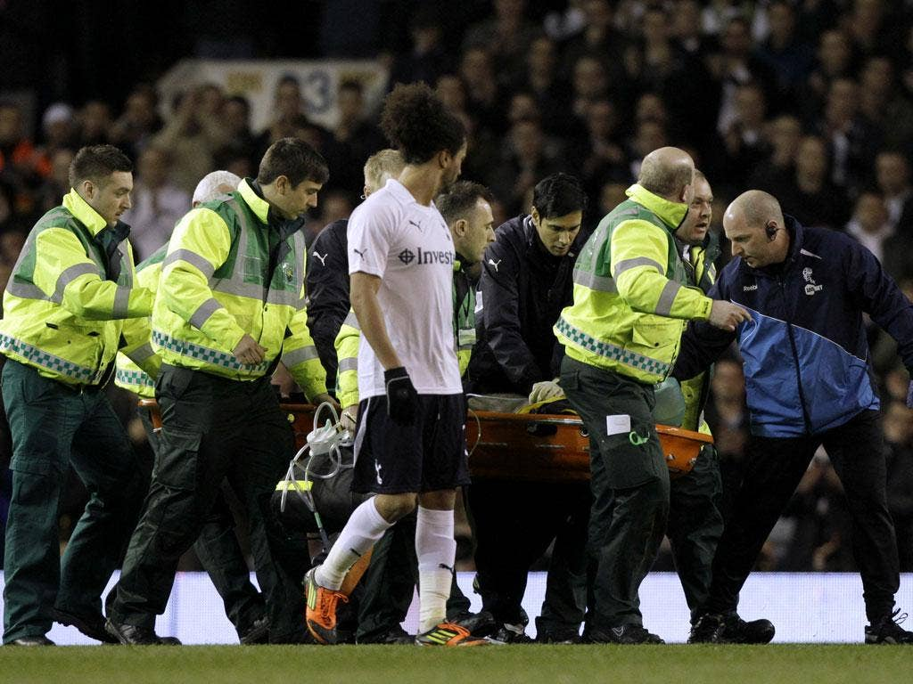 Howard Webb was in charge when Fabrice Muamba collapsed at White Hart Lane