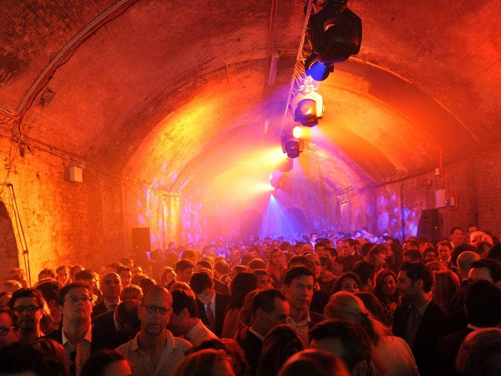 The Old Vic Tunnels was the London venue
