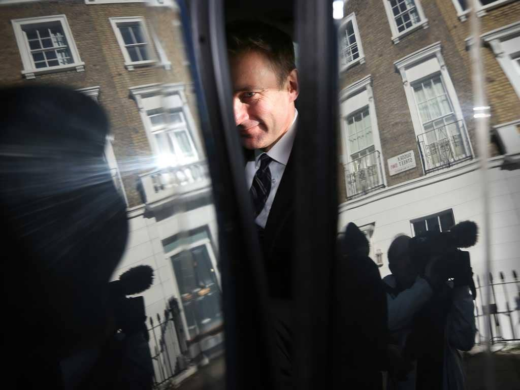 Cornered: Jeremy Hunt has more explaining to do at the Leveson inquiry this week