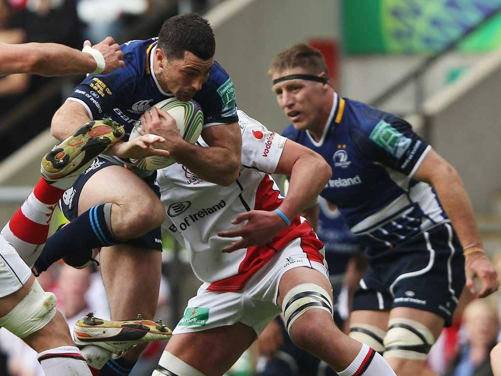 Unfortunately for the Ospreys, the 2012 European player of the year, Rob Kearney (pictured) has been passed fit and will be at full-back for a Leinster team showing some changes but no glaring weakness