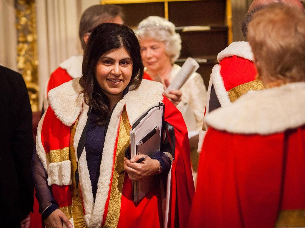 Baroness Warsi, co-chairman of the Conservative Party, has admitted failing to declare rental income received for more than a year on a north London flat.