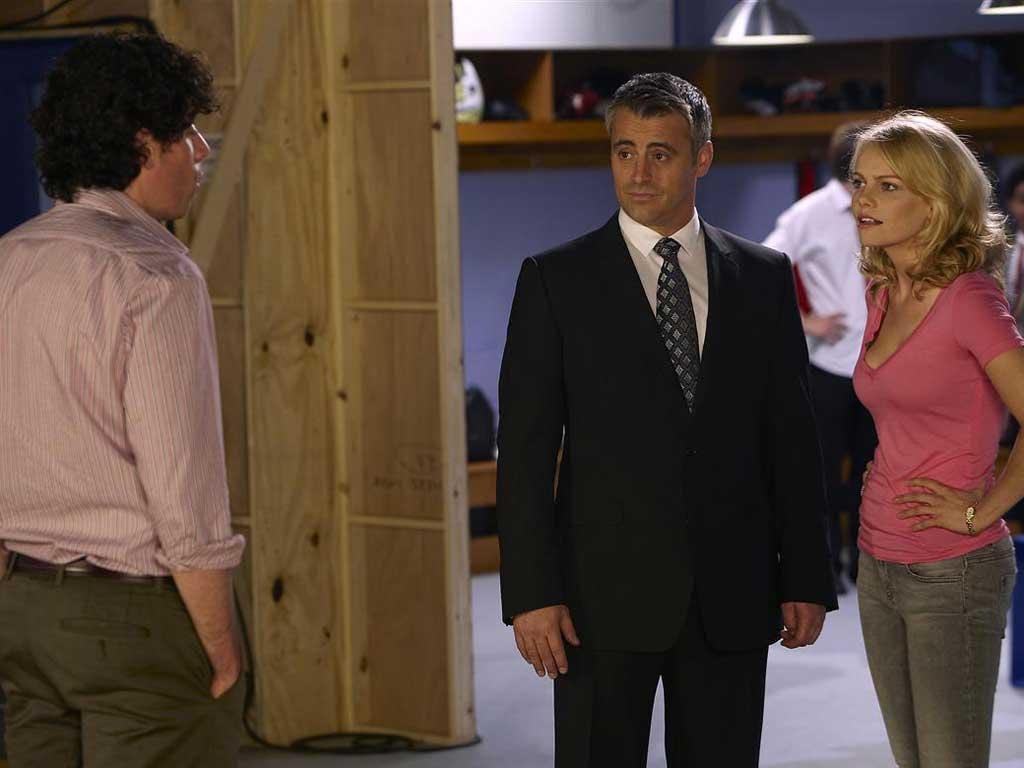 Long lost friend: Matt LeBlanc plays a version of himself in 'Episodes'