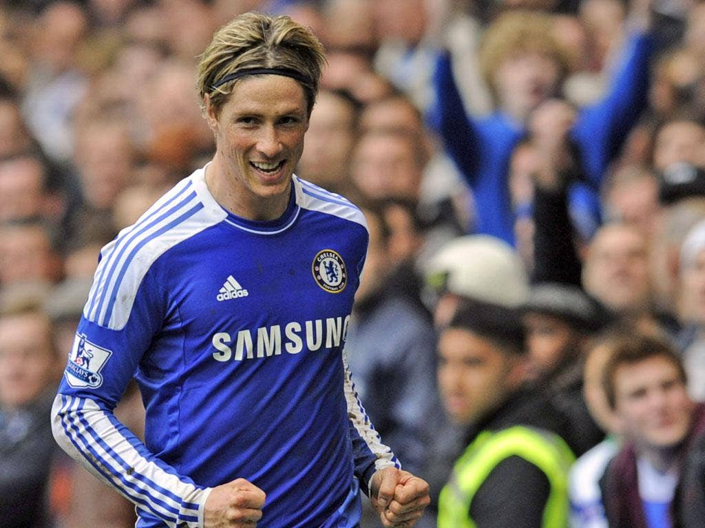 Fernando Torres has scored just 12 goals for Chelsea since his signing