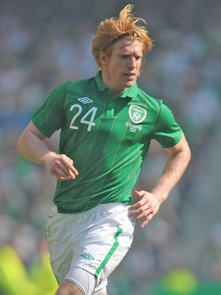 Paul McShane played in Ireland's win against Bosnia on Saturday