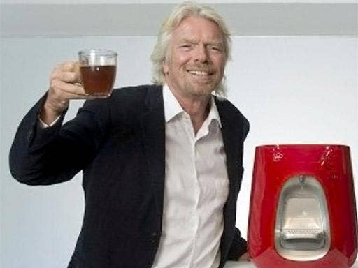 Virgin says the Strauss Water could become as popular as the vacuum cleaner