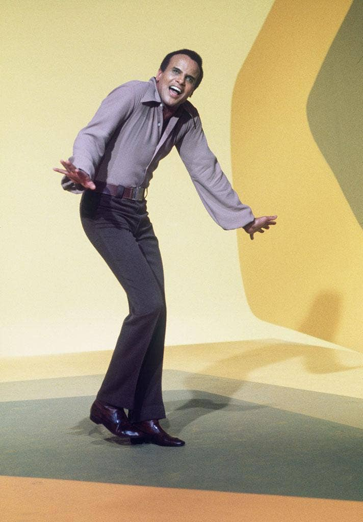No compromise: Harry Belafonte in 1969, in Paris