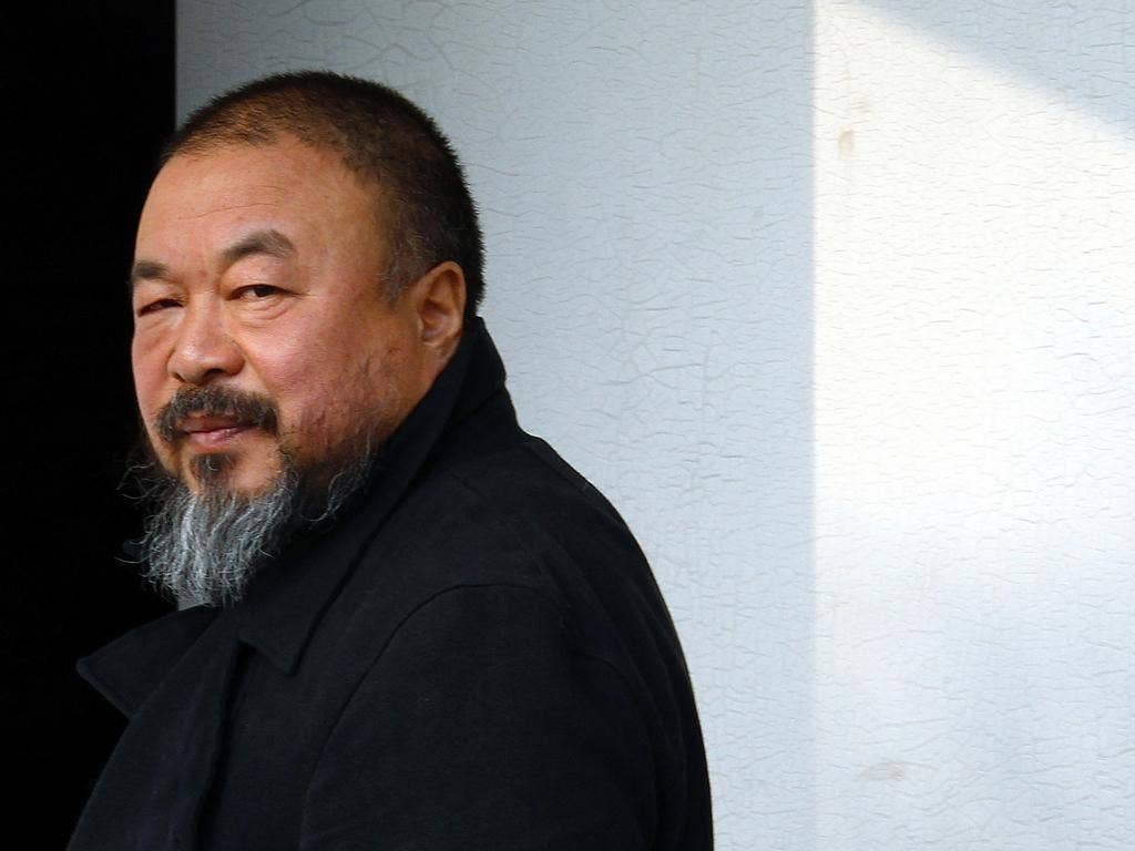 Ai Weiwei designed the Serpentine Gallery Pavilion in Hyde Park