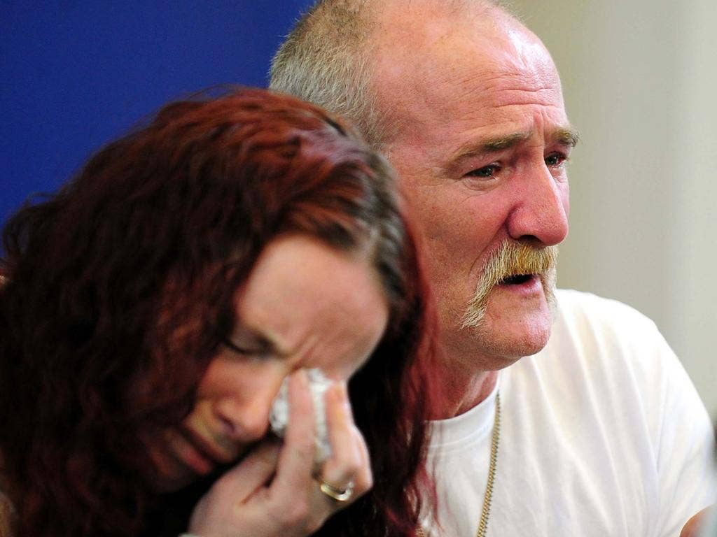 Mick and Mairead Philpott held a tearful press conference