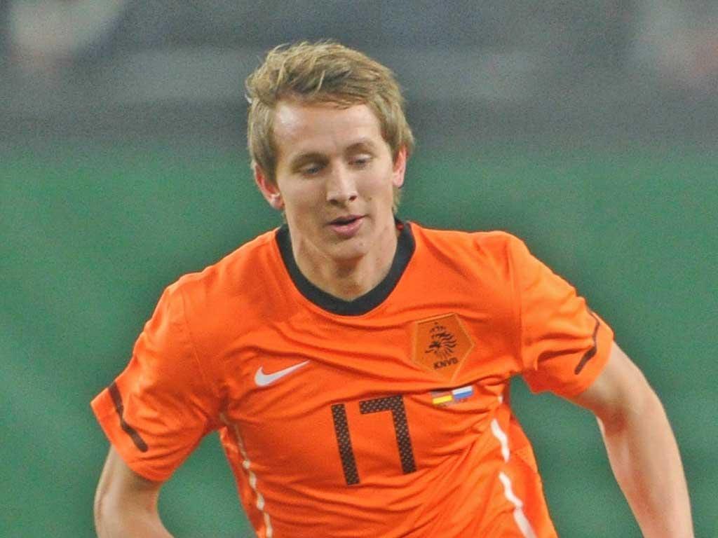 Luuk De Jong, Netherlands - Forward, age: 21, caps: 7