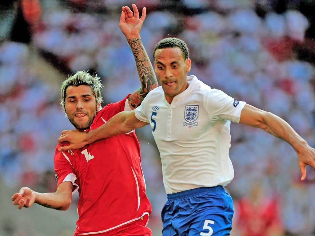 Rio Ferdinand has not been picked for Euro 2012
