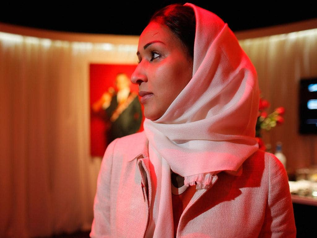 Manal al-Sharif in New York in April after she was named one of Time magazine's 100 most influential people