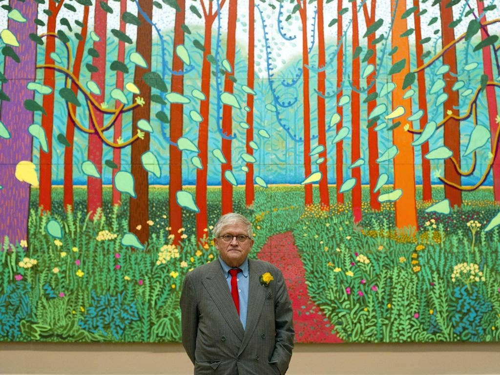 David Hockney - Royal Academy: A Bigger Picture brought together 150 Hockney works, many from the past eight years. It was met with huge acclaim and pre-booking for the show, which opened in January, sold out to March. Almost 10,000 new 'friends' signed u