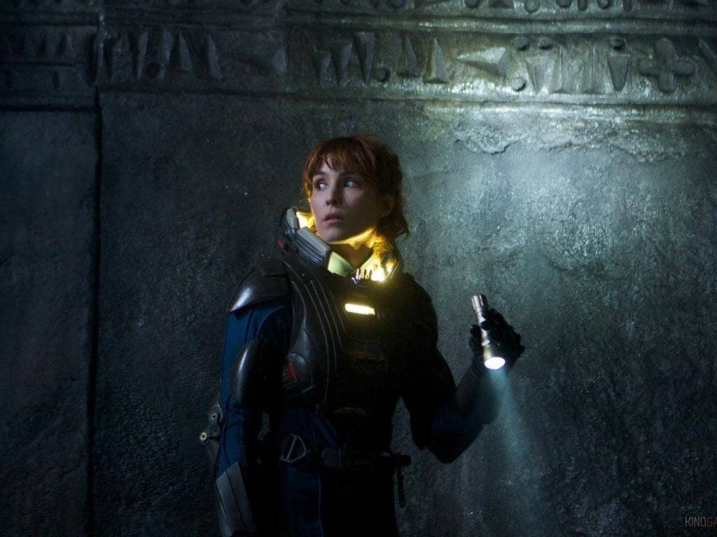 Setting the screen on fire: Noomi Rapace in Ridley Scott's 'Prometheus'