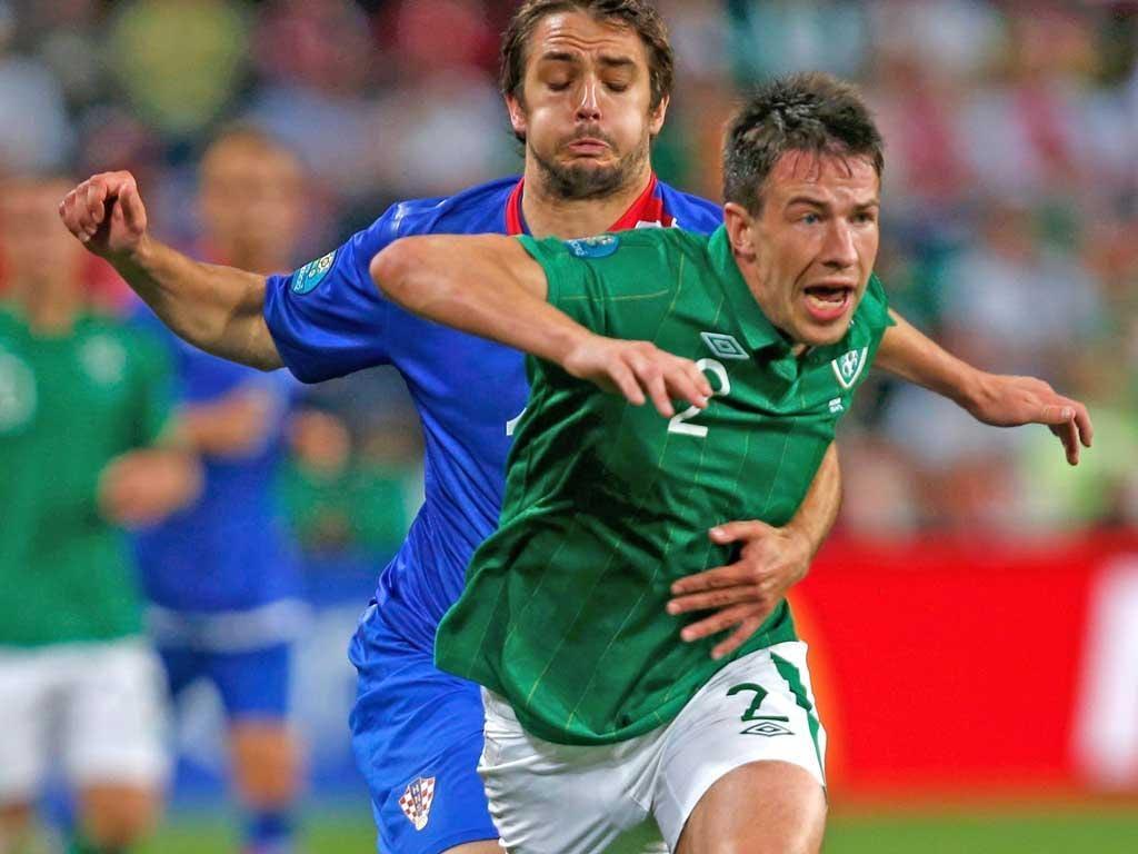 Sean St Ledger scored the Republic of Ireland's equaliser last night