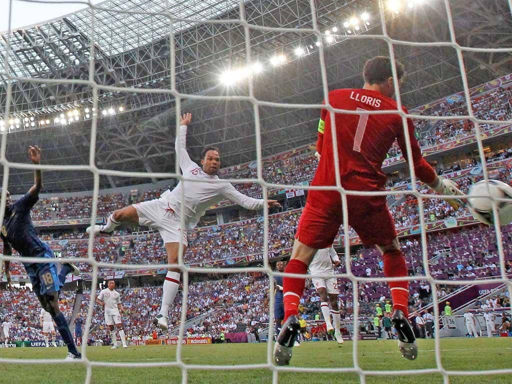Lescott on target as Hodgson's England make impressive start to Euro 2012 with hard-earned 1-1 draw against France