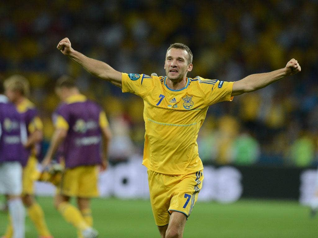 <b>Andriy Shevchenko: </b> Ukraine's captain and talisman showed that he still possesses the attributes that made him a world-class goalscorer with an expertly taken brace. Unsurprisingly given a standing ovation when substituted with 20 minutes to go. 8