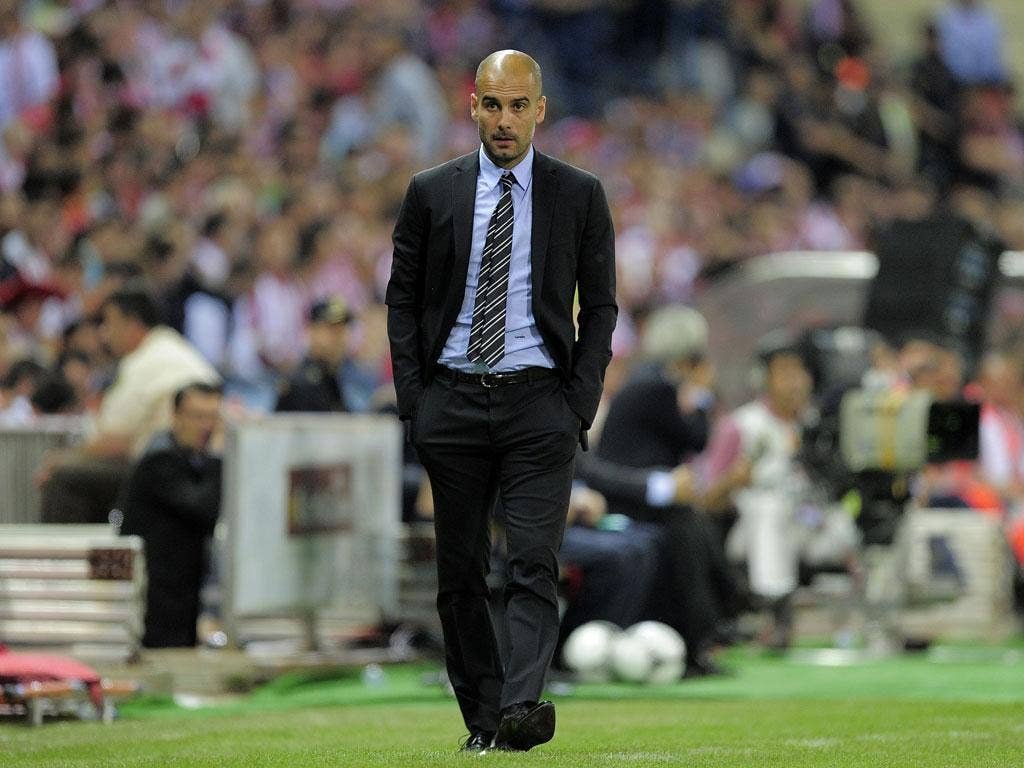 <b>Pep Guardiola</b><br/> A highly unlikely appointment and an outside bet with the bookies - but if Tottenham were given any encouragement they could land Guardiola, they would surely do everything they could. He resigned as Barcelona manager at the end