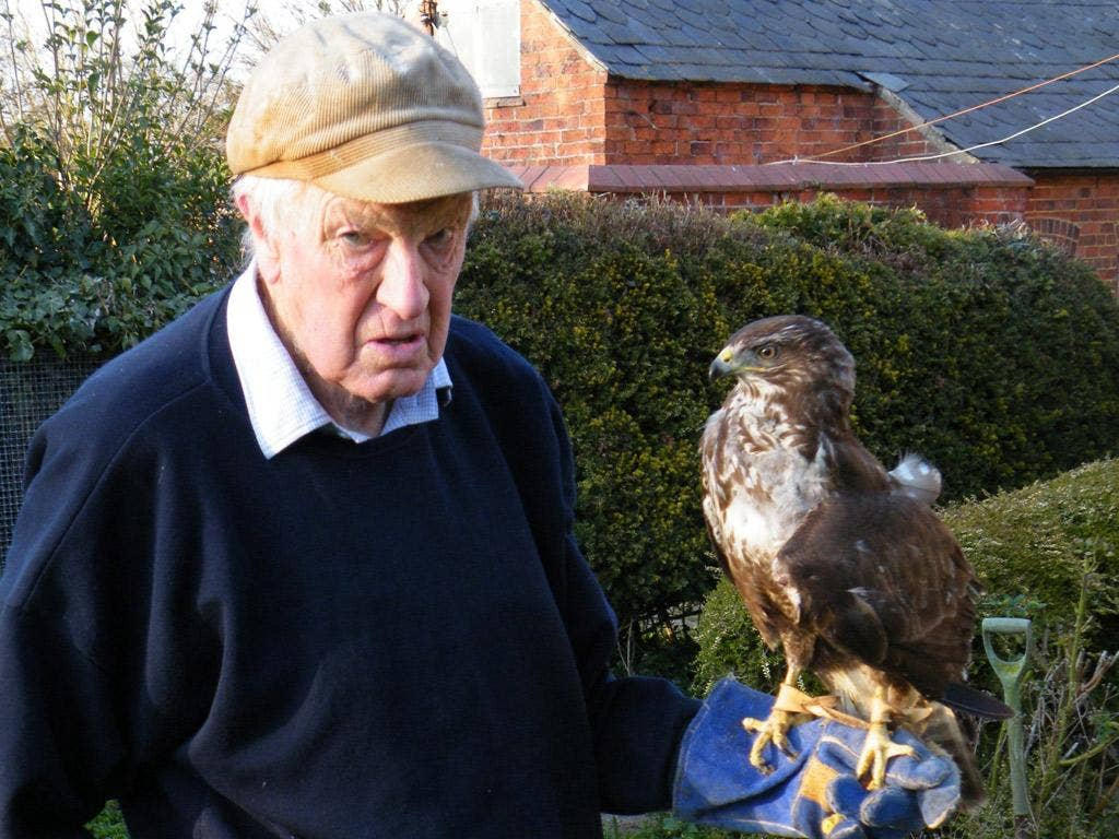 John Burkett was an engineer, falconer and an expert in wildlife rehabilitation