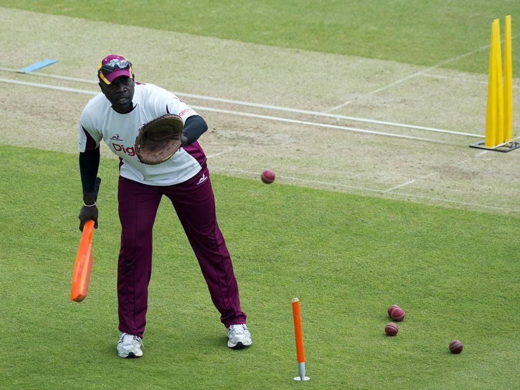 West Indies coach Ottis Gibson