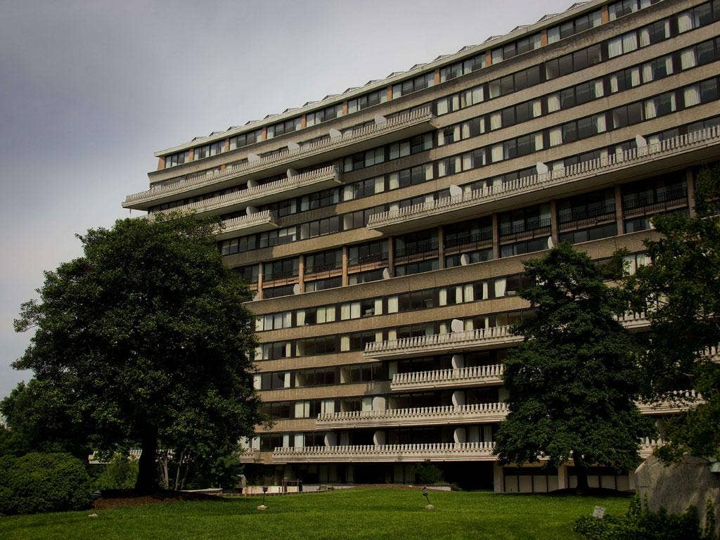 The 1960s Watergate building is in line for a total refurbishment