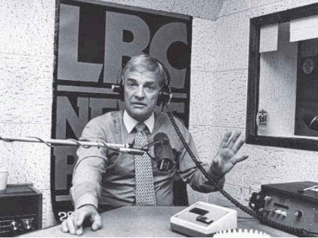 The king of radio news: with LBC he led what was effectively a revolution against the broadcasting establishment