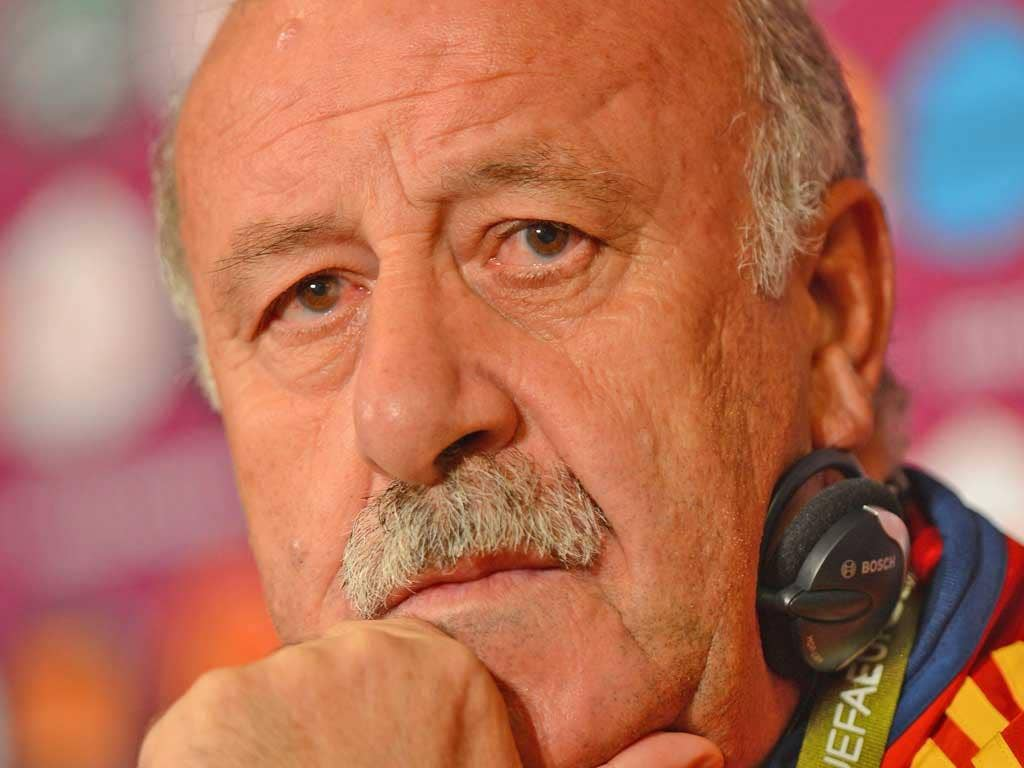 Vicente del Bosque stops any Real-Barça rivalry in his squad