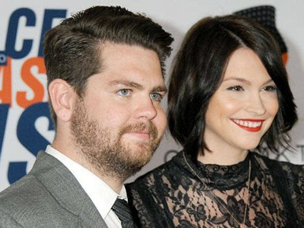 Jack Osbourne and his fiancée Lisa Stelly