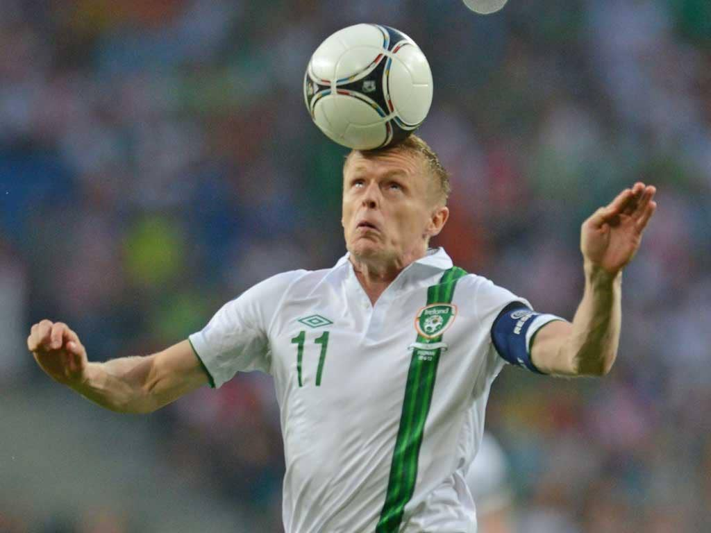<b>Damien Duff: </b> Captaining the side on his 100 th appearance, the experienced winger tried his best to make things happen for his team but to no avail. 6