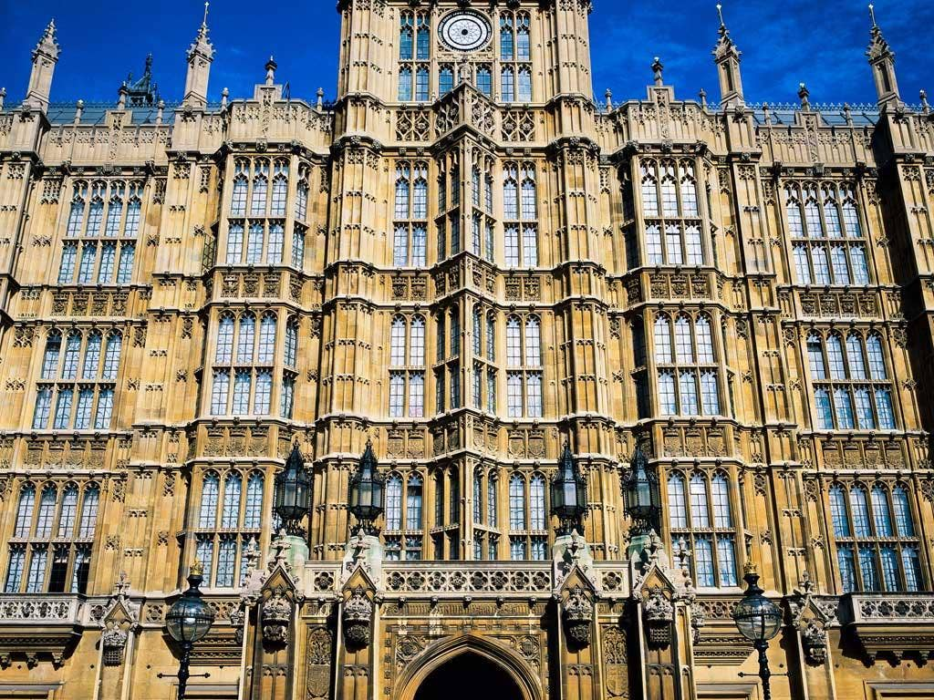 House of Lords Palace of Westminster Parliament