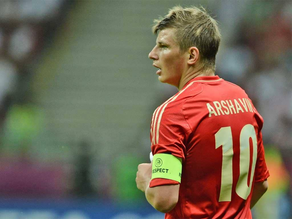 Andrei Arshavin started the tournament brightly before fading