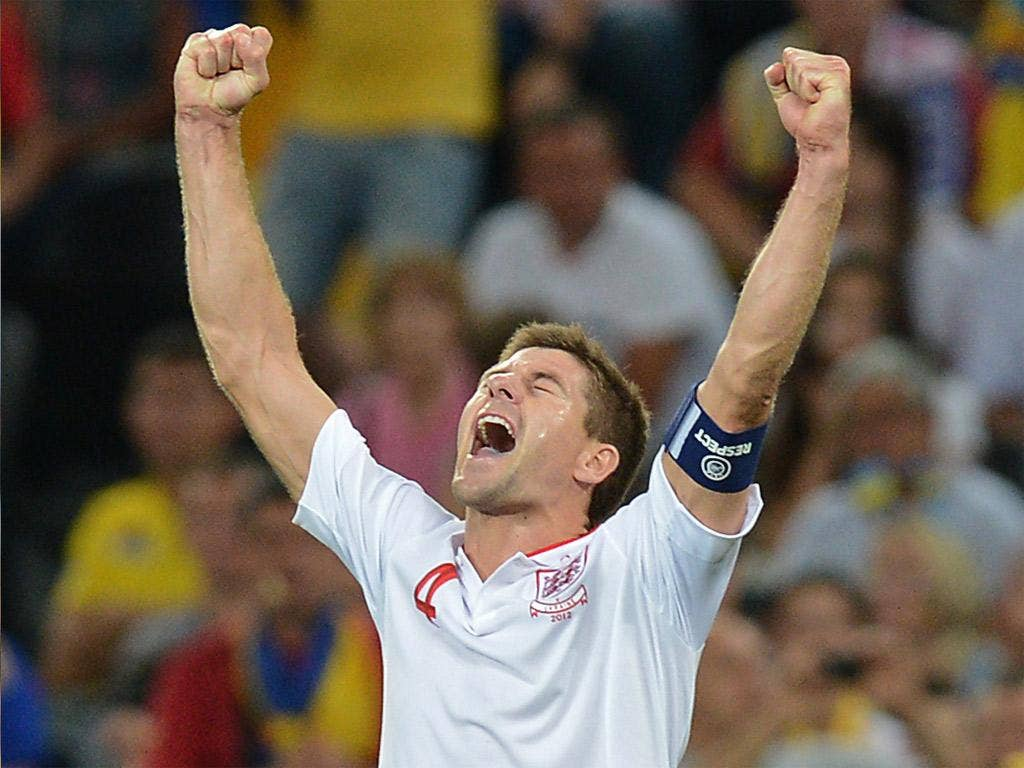 Steven Gerrard says 'you need a bit of luck in these competitions'