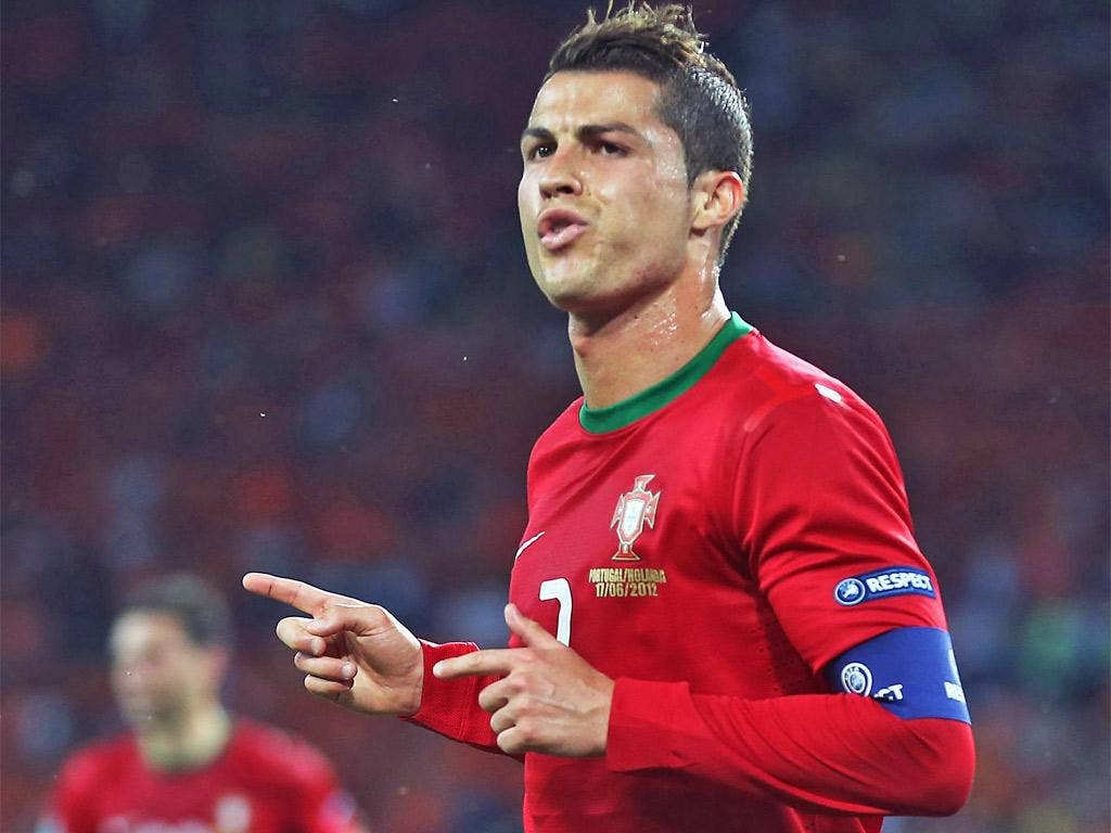 Ronaldo finally found the back of the net against the Netherlands - scoring twice