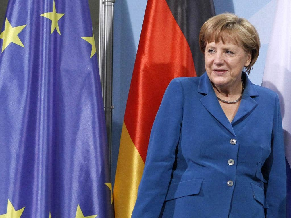 Total clarity: Ms Merkel has laid down Germany's new position