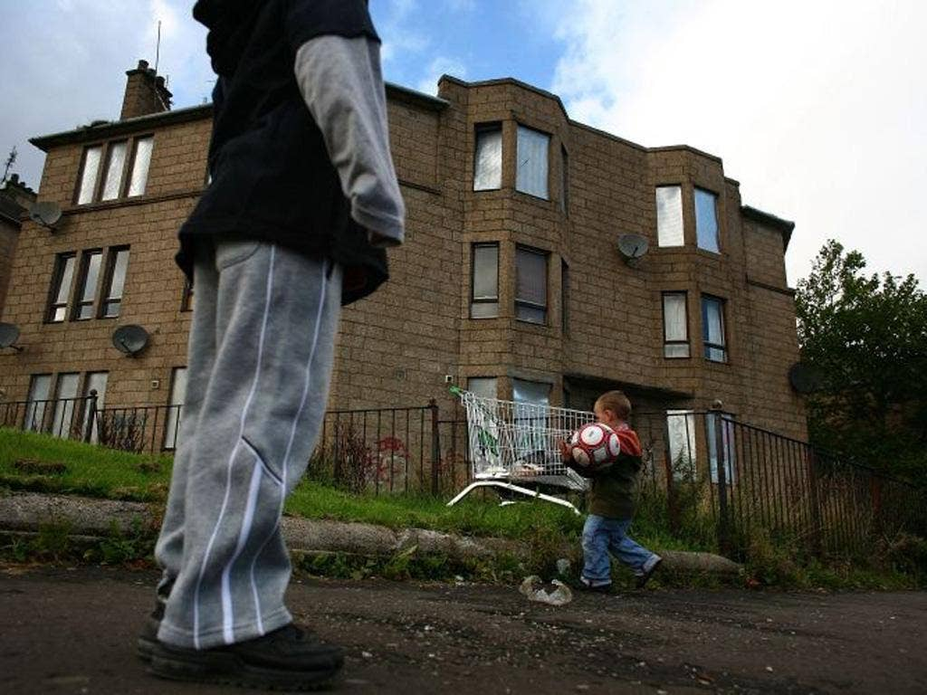 Britain's poverty line is below £13,000 a year