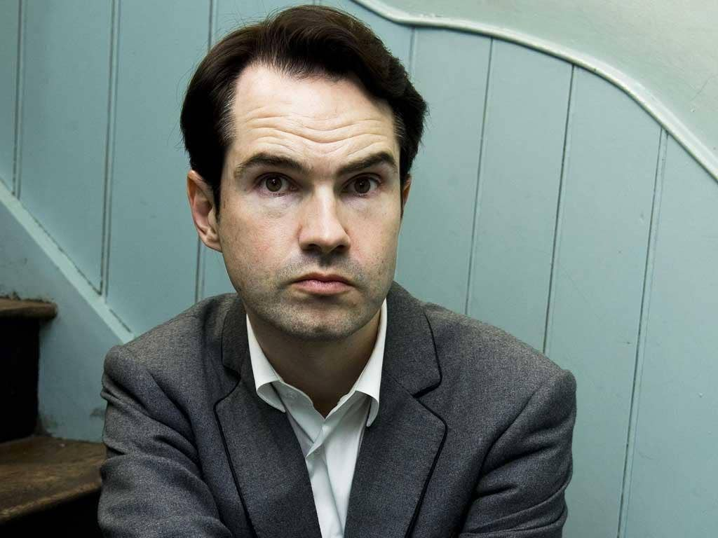 Naughty Step: Jimmy Carr has disappointed his public - but he's a comedian, not a politician
